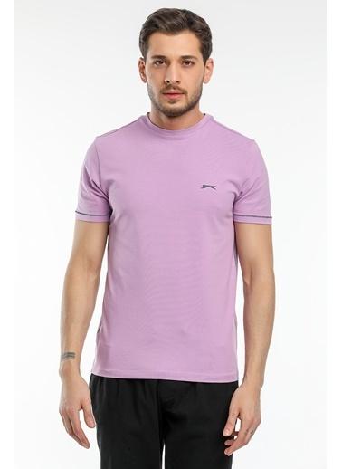Slazenger Slazenger MOPET Erkek T-Shirt  Lila